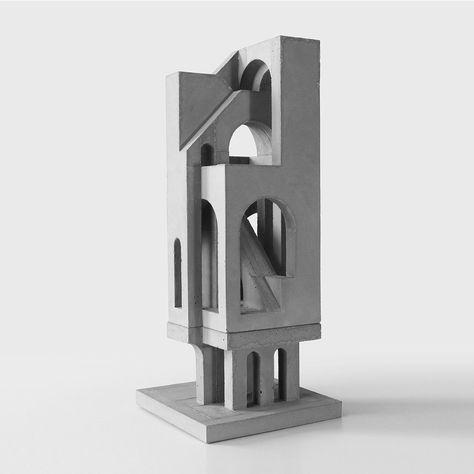 architectural concrete model